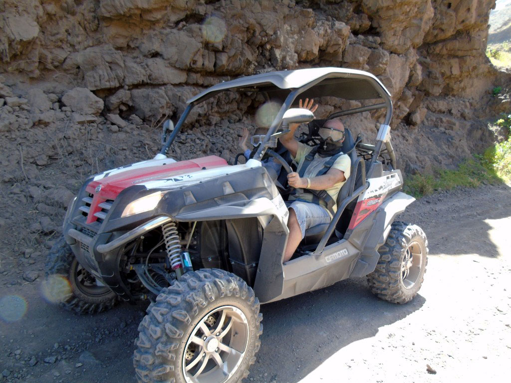 buggy 4x4 offroad tour gran canaria